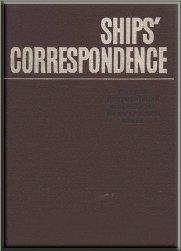 Ships correspondence: судовая документ...